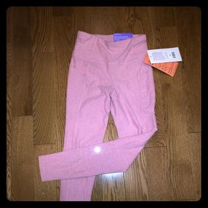 NWT X by Gottex high rise pink leggings (XS)